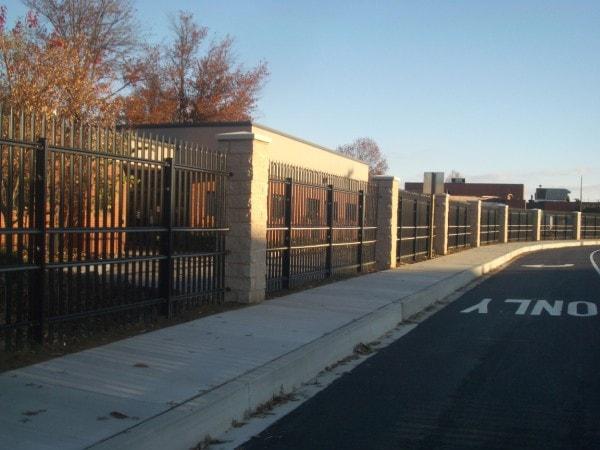 Norfolk K4 Rated Fence Hercules Fence Virginia Beach Va