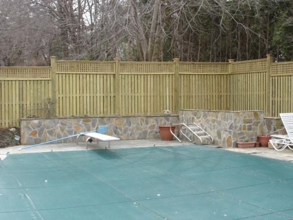 Norfolk Residential Custom Wood Fences Hercules Fence