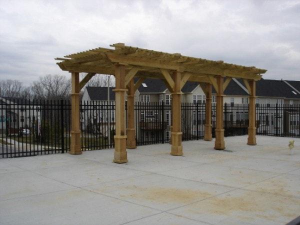 Norfolk Commercial Custom Wood Fences Hercules Fence