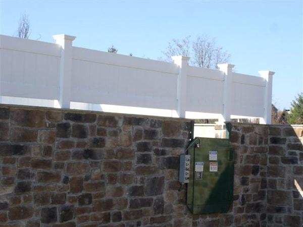 Norfolk Commercial Pvc Vinyl Fence Hercules Fence